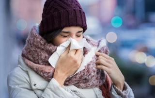 Erkältungszeit - Gut gerüstet in die Winterferien starten